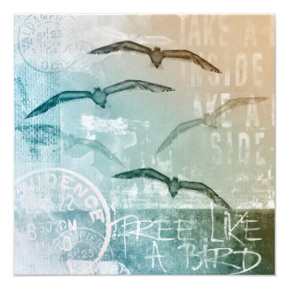 Free like a bird card
