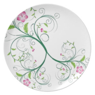 Free line party plate
