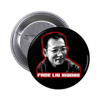 Free Liu Xiaobo Pinback Button