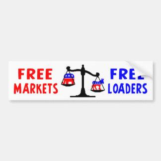 Free Loaders Bumper Sticker