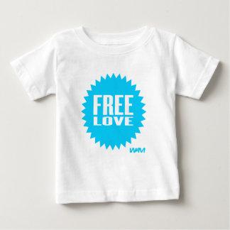 free love - blue tshirt