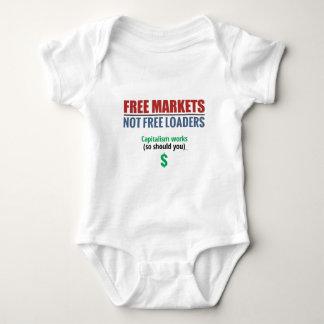 Free Market Capitalism Baby Bodysuit