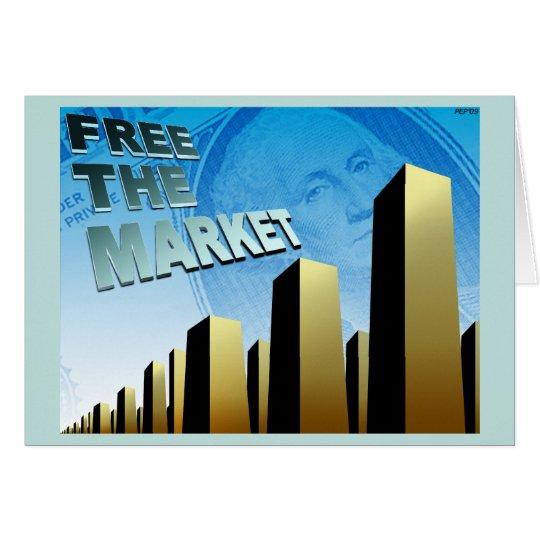 Free Market Economy Card