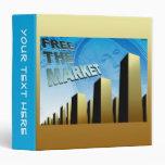 Free Market Economy Vinyl Binders