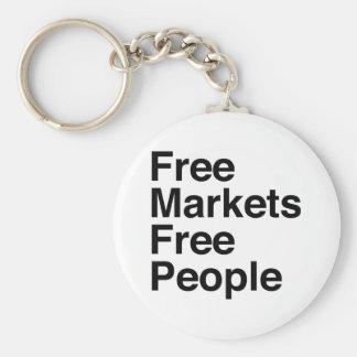 Free Markets Free People Keychain