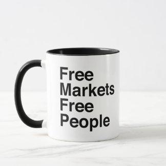 Free Markets Free People Mug