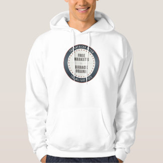 Free Markets Versus Obama Hooded Sweatshirt