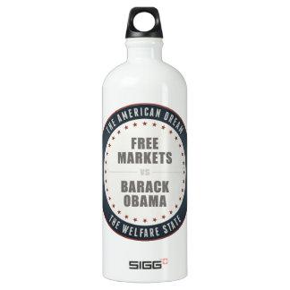 Free Markets Versus Obama Water Bottle