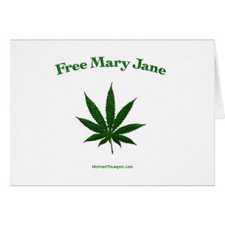 Free Mary Jane Card