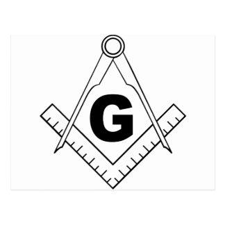 Free Masonry Symbol Postcard