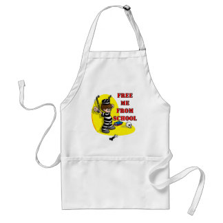 Free me from School Adult Apron