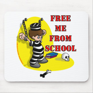 Free me from School Mouse Pad