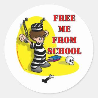 Free me from School Sticker