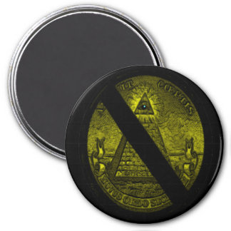 Free Minds 3 Inch Round Magnet