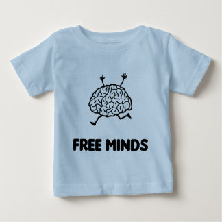 Free Minds Baby T-Shirt