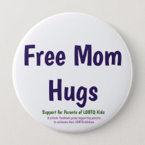 Free Mom Hugs Button