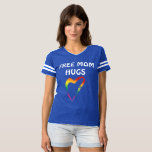 """FREE MOM HUGS for PRIDE T-shirt<br><div class=""""desc"""">Fun design to add to t-shirts to wear to PRIDE. Can&#39;t wait to share some hugs and love at DENVER Pride this year!</div>"""