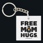 "Free Mom Hugs Keychain<br><div class=""desc"">Official Free Mom Hugs keychain. This is a copyrighted image. www.freemomhugs.org</div>"