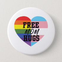 Free Mom Hugs LGBTQ Buttons