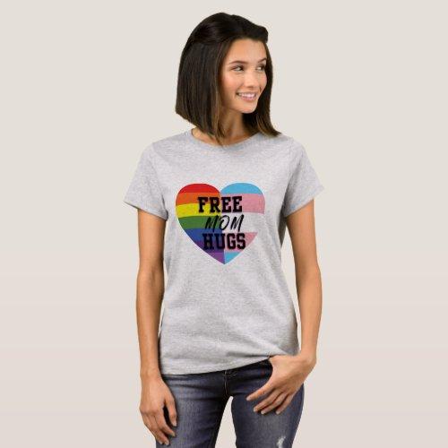Free Mom Hugs LGBTQ T_Shirt