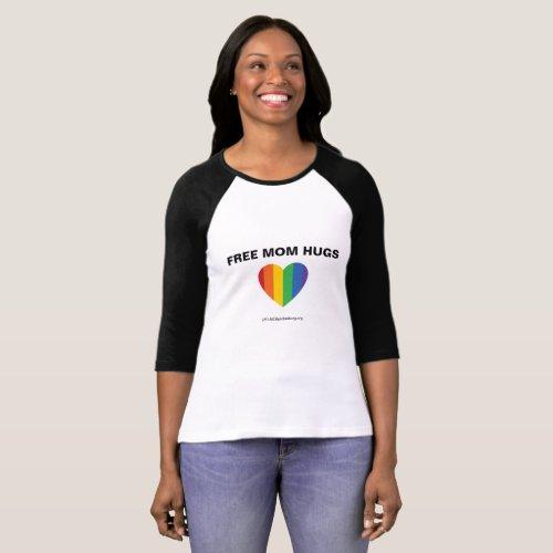 Free Mom Hugs T_shirt