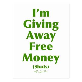 Free Money (Shots) Postcard