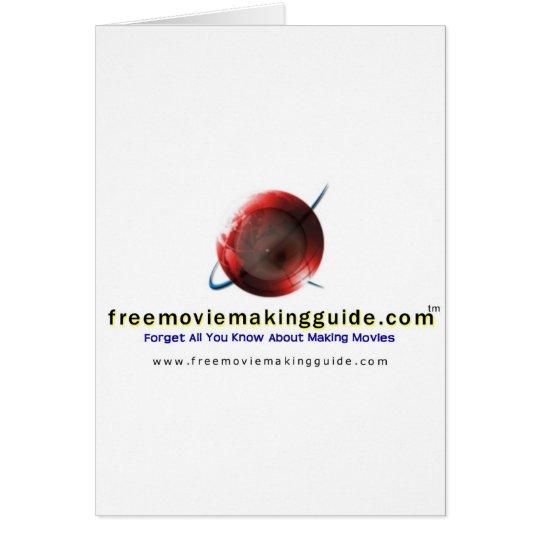 free movie making guide.com Logo Card