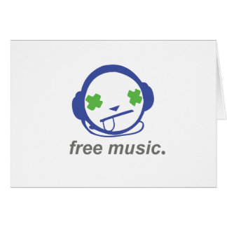free music, free jammie card