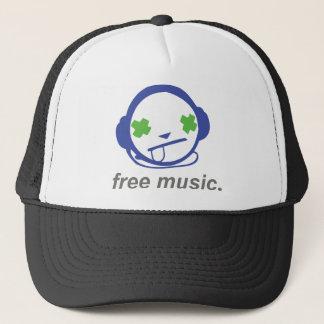 free music, free jammie trucker hat
