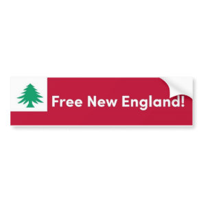 Free New England Bumper Sticker