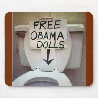 FREE OBAMA DOLLS MOUSE PAD