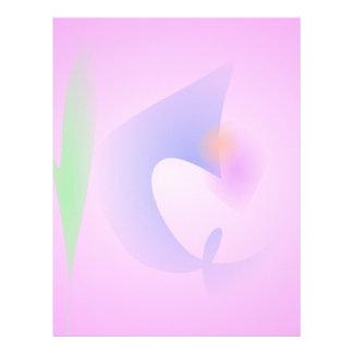 Free Objects Pink Personalized Letterhead