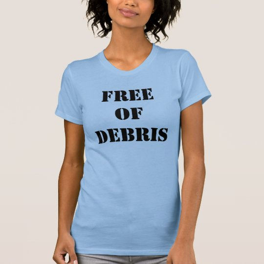 Free of Debris Ladies Tank Top