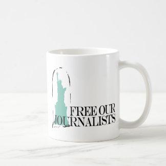 Free our journalists coffee mug