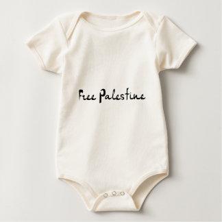 Free Palestine - فلسطين علم  - Palestinian Flag Baby Bodysuit