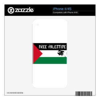 Free Palestine - فلسطين علم  - Palestinian Flag iPhone 4S Skins
