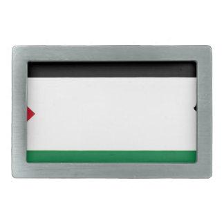 Free Palestine - فلسطين علم  - Palestinian Flag Rectangular Belt Buckle