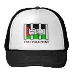 Free Palestine  Bars Mesh Hat