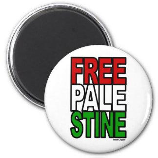 Free Palestine Block Magnet