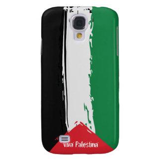Free Palestine Brush Flag - Viva Palestina Samsung Galaxy S4 Case