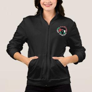 Free Palestine End Apartheid Flag Fist Black Jacket
