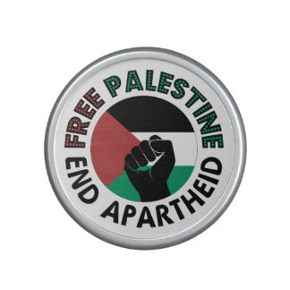 Free Palestine End Apartheid Palestine Flag Bluetooth Speaker