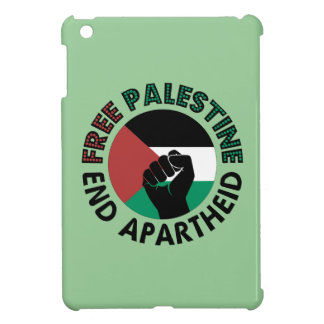 Free Palestine End Apartheid Palestine Flag iPad Mini Cover