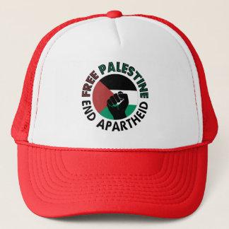 Free Palestine End Apartheid Palestine Flag Trucker Hat