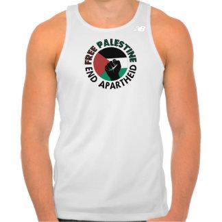 Free Palestine End Apartheid Palestine Flag Tee Shirt