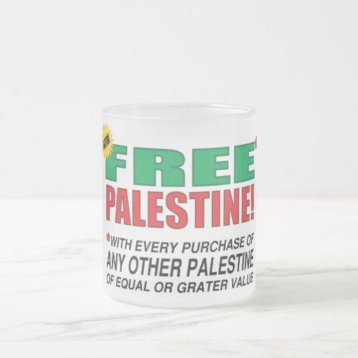 Free Palestine - Free us from palestine please Mugs