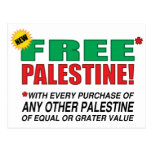 Free Palestine - Free us from palestine please Postcard