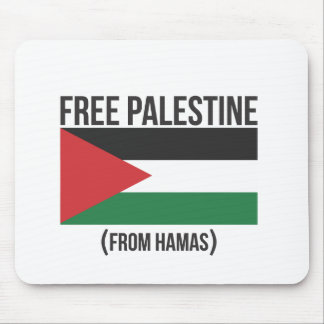 Free Palestine from Hamas Mouse Pads