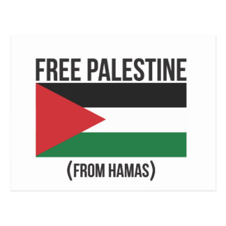 Free Palestine from Hamas Postcards