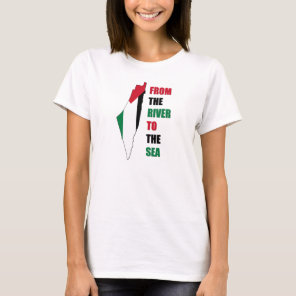 Free Palestine - From The River To The Sea T-Shirt